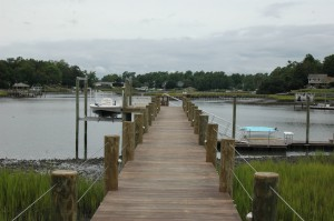 premium ipe fixed pier with floating dock and 2 boat lifts