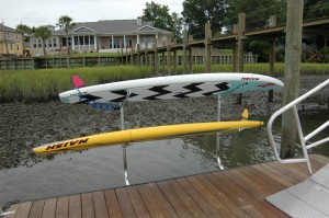 wave board or kayak racks