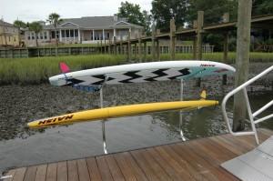 wave board or kayak racks