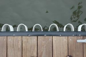 wave guard and rub rail
