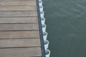 rub rail and wave guard