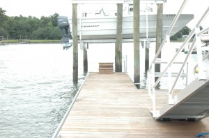 ipe floating dock
