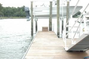ipe floating dock